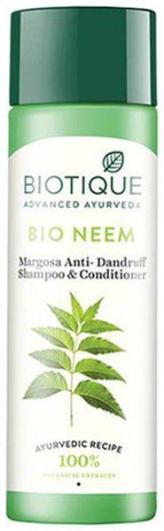 Biotique Bio Neem Margosa Anti-Dandurff Shamoo & Conditioner 120 ml