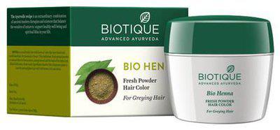 BIOTIQUE Bio Henna - Fresh Powder Hair Colour For Dark Hair 90 g
