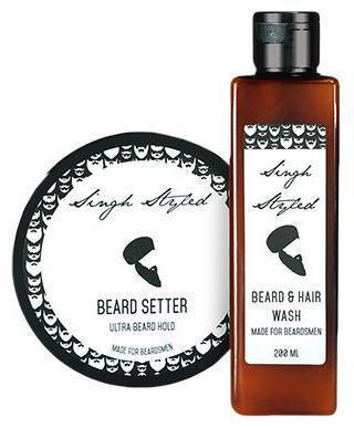 Singh Styled Beard Setter & Beard Wash Combo 400 ml
