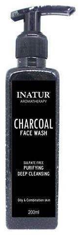INATUR Charcoal Face Cleanser 200 ml