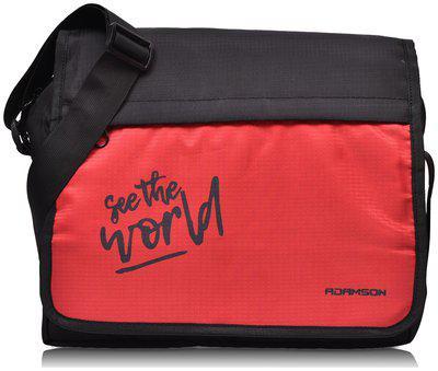 ADAMSON Red Polyester Sling bag