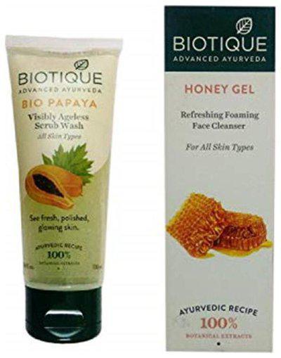 Biotique Papaya Visibly Ageless Scrub Wash 100ml