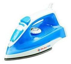 Bajaj MX 4 1250 Steam Iron (White & Blue)