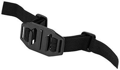 Action Pro New Black Vented Adjustable Head Helmet Strap Belt Go Pro