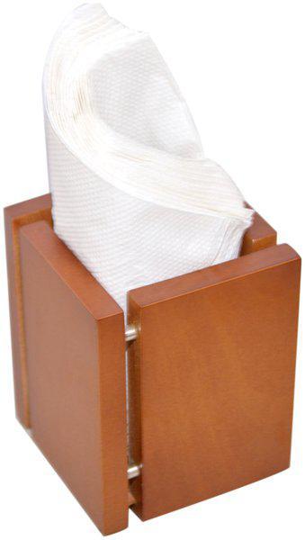 Handcrafted Wooden Tissue Paper Napkin Holder Stand