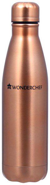 Wonderchef 500 ml Stainless Steel Copper Water Bottles - Set of 1