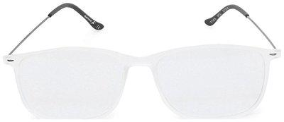 Fastrack White Rectangle Full Rim Eyeglasses for Men - 1