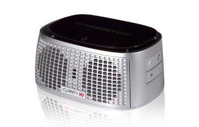 Monster Bluetooth Portable Speaker ( Silver )