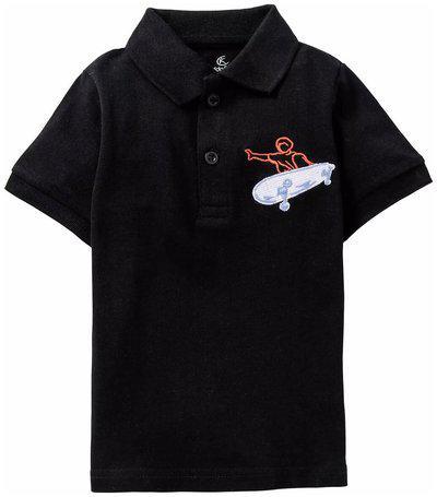 KiddoPanti Boys Solid Cotton Blend T Shirt(Black, Pack of 1)