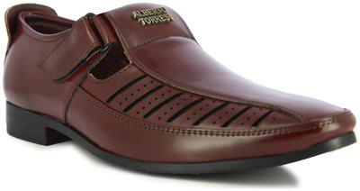 Alberto Torresi Men Brown Sandals
