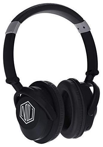 Nu Republic FUNX 2-SILVER Over-ear Bluetooth Headsets ( Black )