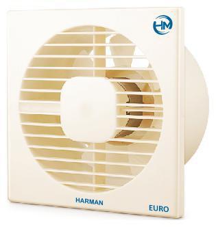 HM HAXF4-WHITE 100 mm Exhaust Fan - White