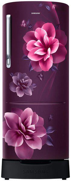 Samsung 230 L 3 star Direct cool Refrigerator - RR24R285ZCR , Camellia purple
