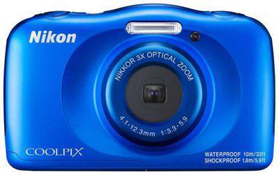 Nikon Coolpix W150 (13.2 MP, 3x Optical Zoom, Upto 4x Digital Zoom, Blue)