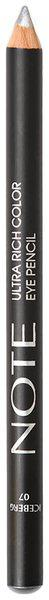 Note Ultra Rich Color Eye Pencil 07-Gray 1.1 g