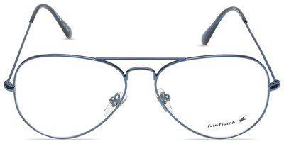 Fastrack Blue Aviator Full Rim Eyeglasses for Men