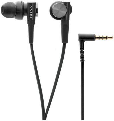 Sony MDR-XB50AP Extra Bass In-ear Headphones (Black)
