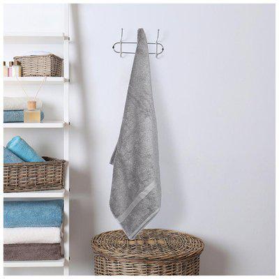 Dreamline Soild pc Grey Medium Bath Towel 1 pc