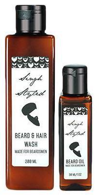 Singh Styled Beard Wash & Beard Oil Combo 230 ml