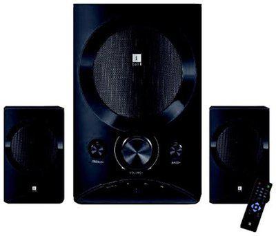 iBall TARANG LION 2.1 2.1 Wired & Bluetooth Speaker ( Black )