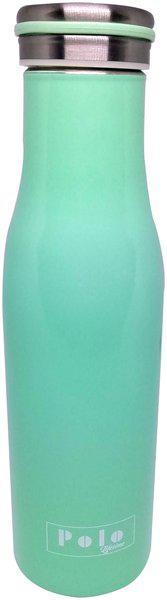 Polo Lifetime Stainless Steel Green Water Bottle ( 360 ml , Set of 1 )