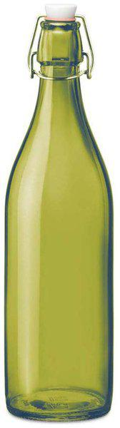 Gifts & Decor Glass Green Water Bottle ( 1000 ml , Set of 1 )