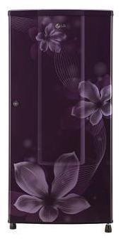 LG 185 ltr 2 star Frost free Refrigerator - GL-B181RPOV , Purple