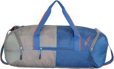 American Tourister Polyester Men Duffle Bag - Grey