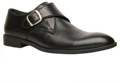 Hush Puppies By Bata Lace Up Shoes For Men(black)
