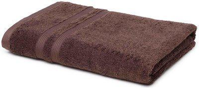 CORE Designed by Spaces 450 gsm GSM Cotton Bath towel ( 1 piece , Brown )