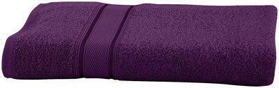 Maspar 500 GSM Cotton Purple Large Bath Towel (Pack of 1)