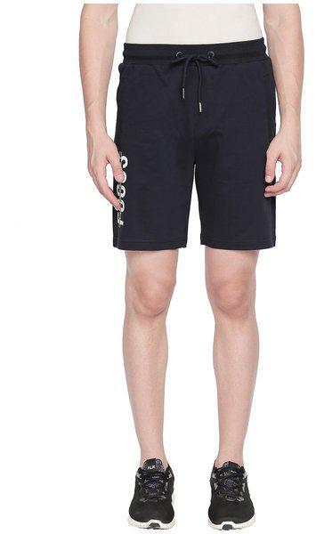 Ajile By Pantaloons Men Blue Slim Fit Regular Shorts