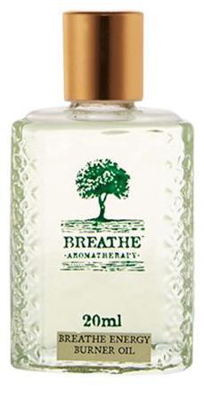 Breathe Aromatherapy Energy Burner Oil 20 Ml