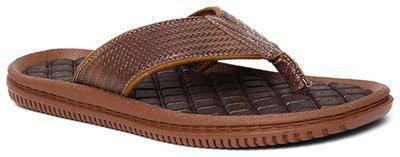 Bata Men Brown Outdoor slippers