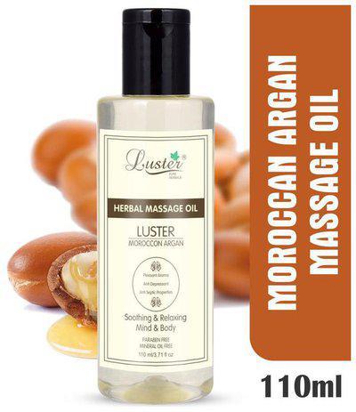 Luster Moroccon Argan Herbal Massage Oil -110 ml