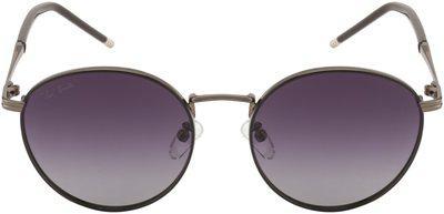 Ted Smith Regular lens Round Frame Sunglasses for Men - Pack of 1