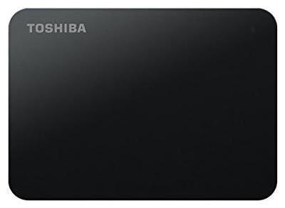 Toshiba Canvio Basics 2 TB Hard Disk Drive External Hard Disk USB 3.0 - Black