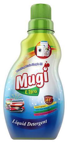 mugi  Ultra Liquid Detergent 500 ml