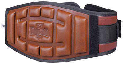 DIABLO Gym Belt Heavy Weight Lifting Back Support Embossed Neoprene Belt