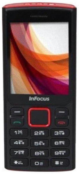 Infocus Hero B1 Dual Sim (Black & Red)