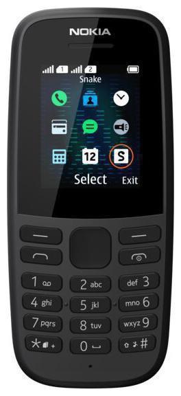 Nokia 105 TA-1203 SS Black