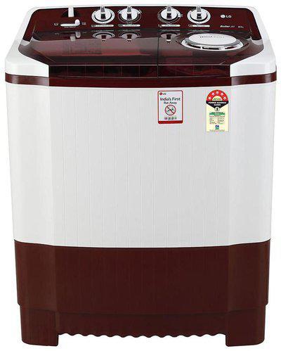 LG 8 Kg Semi automatic top load Washing machine - P8035SRMZ , Burgundy