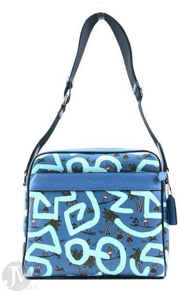 Coach Mens (F67371 F67372) Keith Haring Charles Camera Crossbody Handbag
