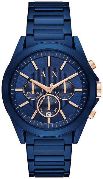 Armani Exchange Chronograph Blue Dial Men's Watch - AX2607
