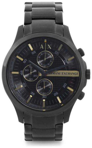 Armani Exchange Chronograph Black Dial Men's Watch - AX2164