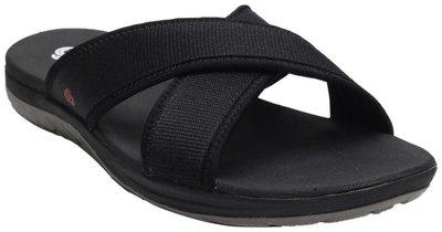 Clarks Black Synthetic Slipper
