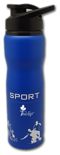 Tuelip 750 ml Stainless Steel Blue Water Bottles - Set of 1