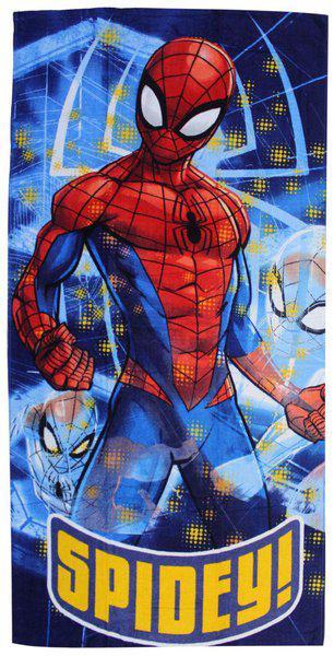 Marvel Cotton Spiderman Kids Bath Towel