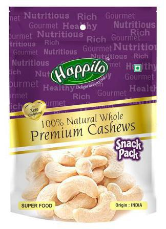 Happilo Premium Cashews - Whole, 100% Natural 35 gm