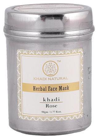 Khadi Natural Herbal Rose Face Mask 50gm